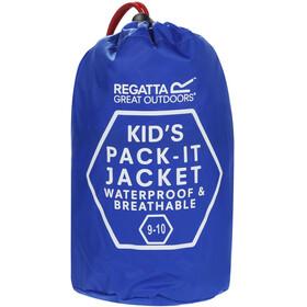 Regatta Pack It III Jacket Kids Oxford Blue